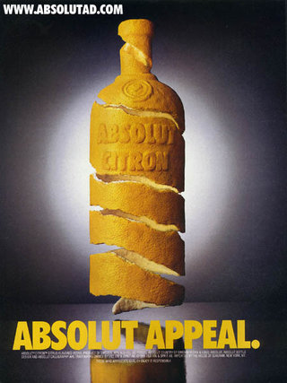 Absolut Vodka Ad